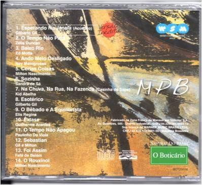cd- mpb - coleção som do brasil -novo
