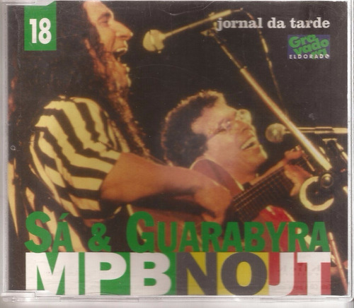 cd mpb no jt 18 - sá & guarabyra - 1997 - velas cd 695