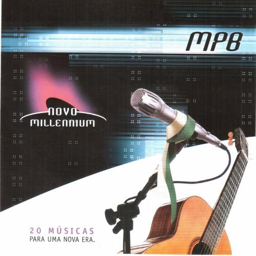 cd mpb novo millenium original + frete grátis