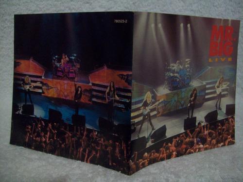 cd mr. big- live