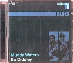 cd muddy waters & bo diddley - fundamentals (usado-otimo)