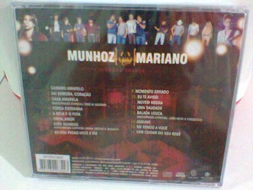 cd munhoz & mariano 2 @ ao vivo  -lacrado-