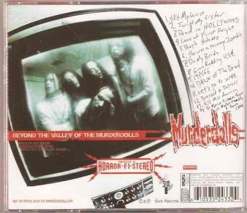 cd  murderdolls beyond the valley of - novo e lacrado - b314