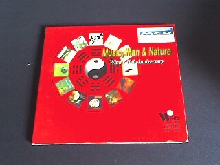 cd music, man & nature - wind´s 10th anniversary ( digipack)