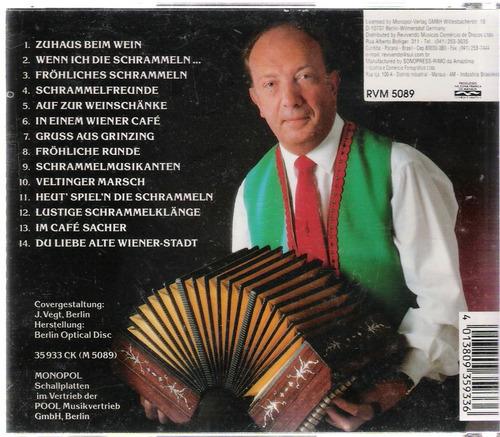 cd música alemã- schrammelmusikanten - jörg imboden