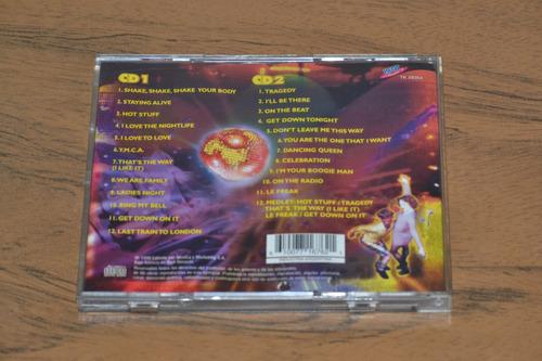 cd musica - all hits 2 cd - disco music - 1999