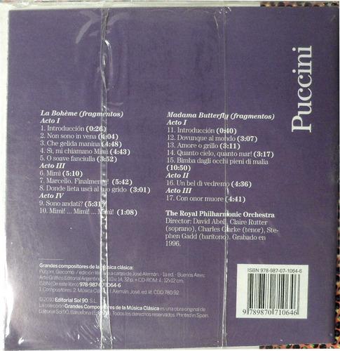 cd musica clasica giacomo puccini de revista clarin v+