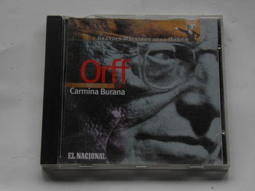 cd música clásica orff carmina burana