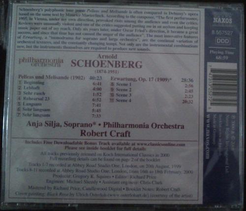 cd música clásica schoenberg naxos nuevo
