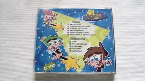 cd musica de los padrinos magicos en vivo exim group mexico