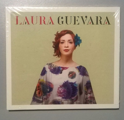 cd música homónimo laura guevara (físico nuevo) fullnota