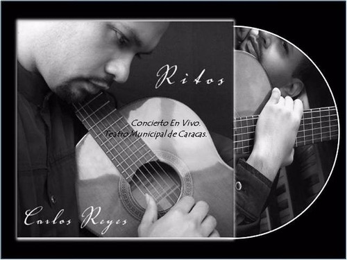 cd música instrumental rito carlos reyes