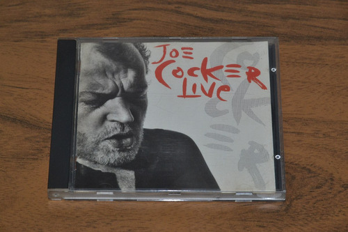 cd música joe cocker - live vivo