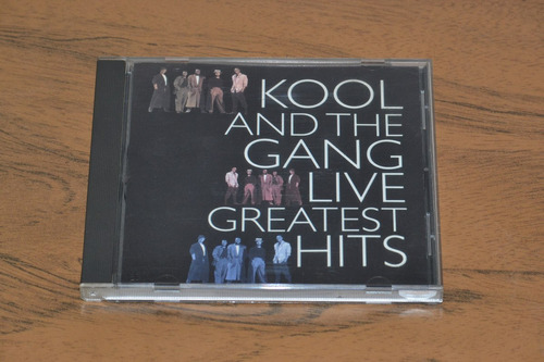 cd musica - kool and the gang - live greatest hits - 1998