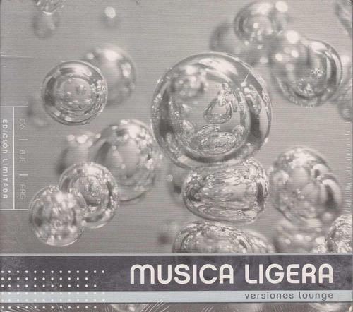 cd musica ligera versiones lounge temas soda stereo cerati