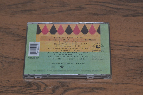cd musica - rem - out of time - 1991