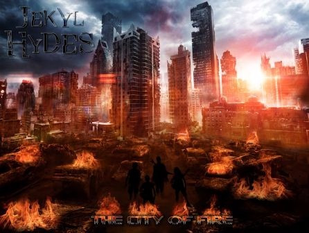 cd música rock the city of fire jekyl hydes (digital)
