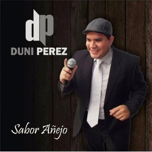 cd música salsa en mp3 fullnota sabor añejo duni perez