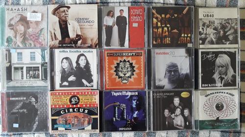 cd musica variada lote pop rock ingles y español