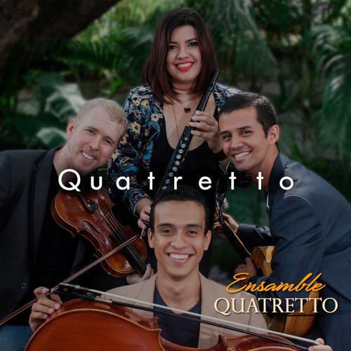 cd música venezolana instrumental ensamble quatretto