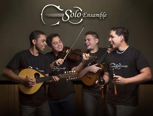 cd música venezolana tocando madera solo ensamble (digital)