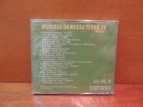 cd músicas da nossa terra zh volume 1