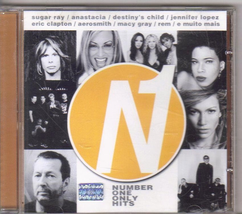 cd nº1 only hits, sugar ray, eric clapton e outros, original