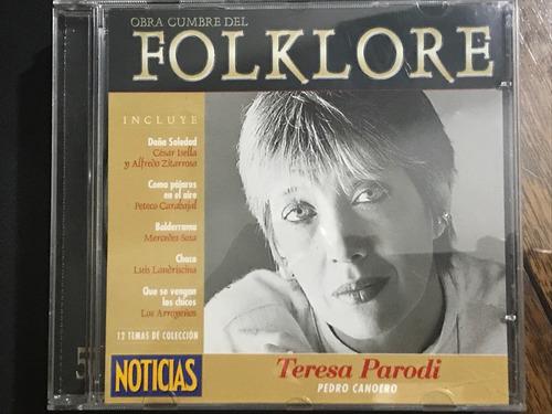 cd n*5 - folklore - revista noticia - belgrano o palermo