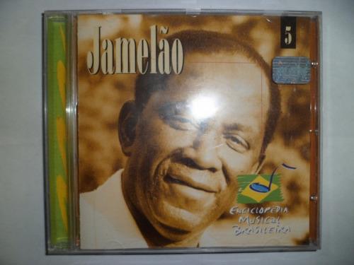 cd nac - jamelão - enciclopédia nacional brasileira frete 10