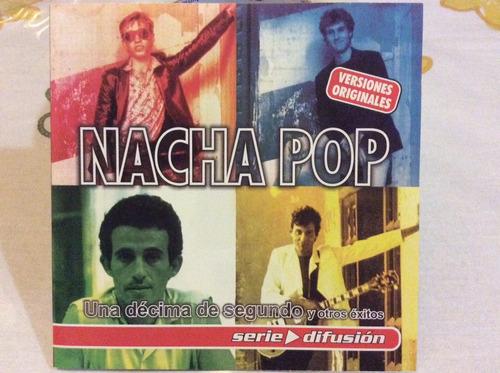 cd nacha pop una décima de segundo y otros exitos importado