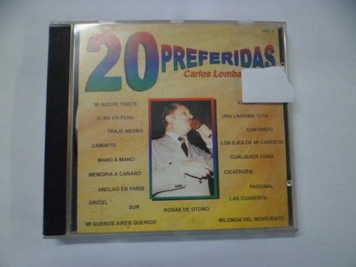 cd nacional - carlos lombardi - 20 preferidas frete 10,00