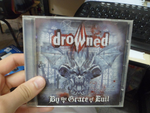 cd nacional - drowned - by the grace of evil frete 10,00