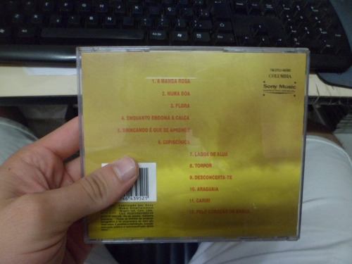 cd nacional - ednardo - a manga rosa frete 10,00