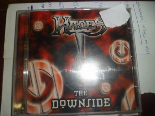 cd nacional - hades  - the downside frete 10,00