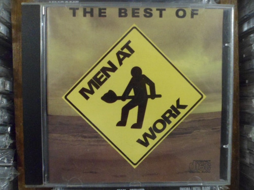 cd nacional - the best of men at work frete 10,00