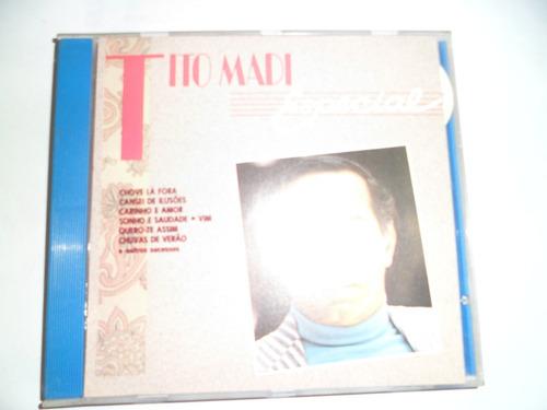 cd nacional - tito madi - especial frete 10,00