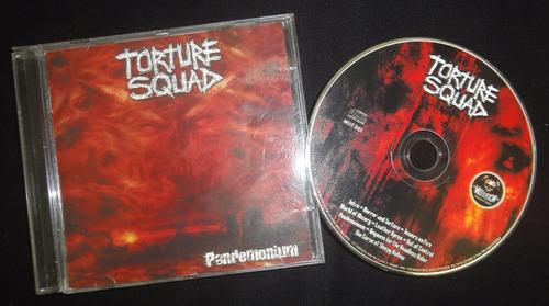 cd nacional torture squad - pandemonium