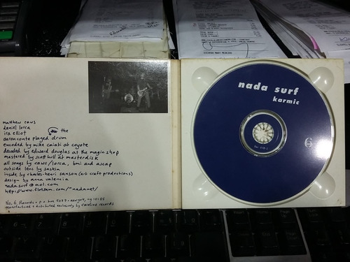 cd - nada surf - karmic