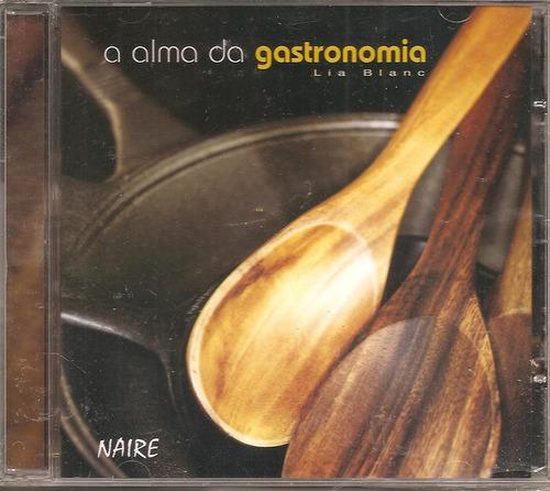 cd naire siqueira - a alma da gastronomia - new age
