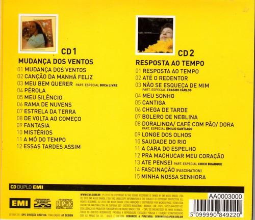 cd nana caymmi  2 em 1 (2 cds) lacrado! - frete grátis