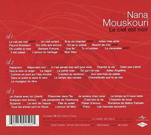 Cd Nana Mouskouri Les 50 Plus Belles Chansons Cd