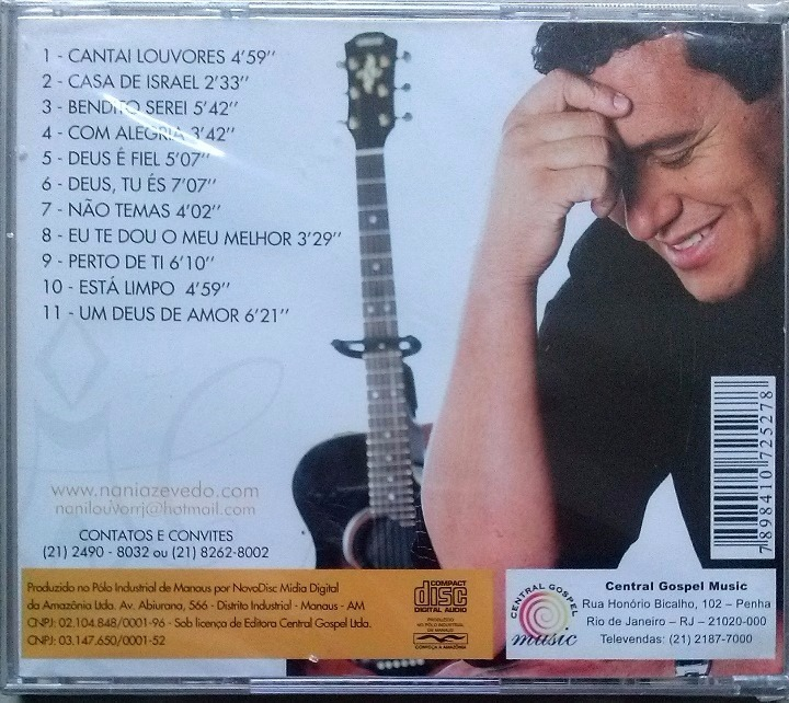 cd de nani azevedo bendito serei playback