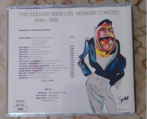 cd nao oficial - queen - tributo a freddie mercury importado