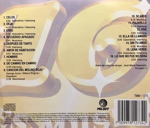 cd napoleon 16 kilates musicales