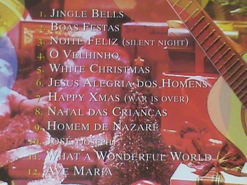 cd - natal de cavaquinho - ritmo de samba - (novo - lacrado)