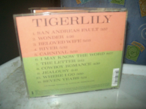 cd natalie merchant - tigerlily importado u.s.a.