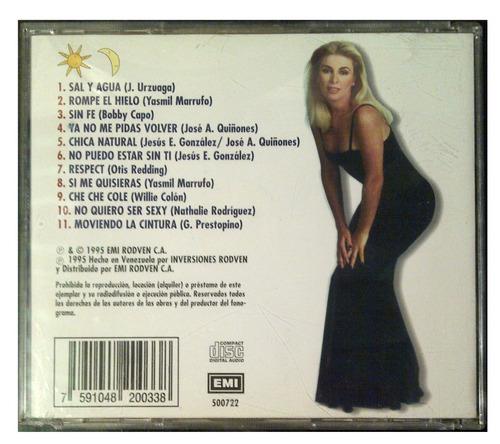 cd - natusha - sol y luna - año 1995 - original