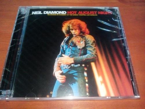 cd - neil diamond - noche calida de agosto
