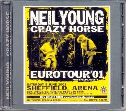cd neil young & crazy horse - waiting for a hurricane - 2001
