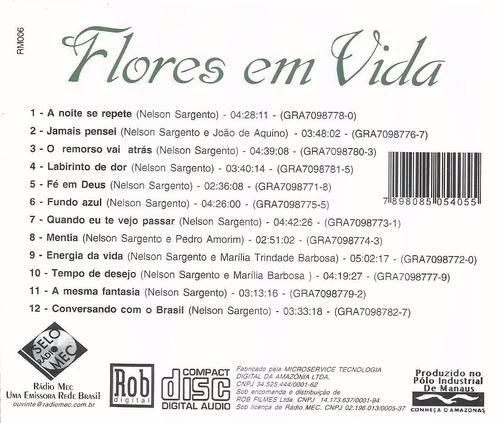 cd nelson sargento flores em vida emílio santiago mart'nália